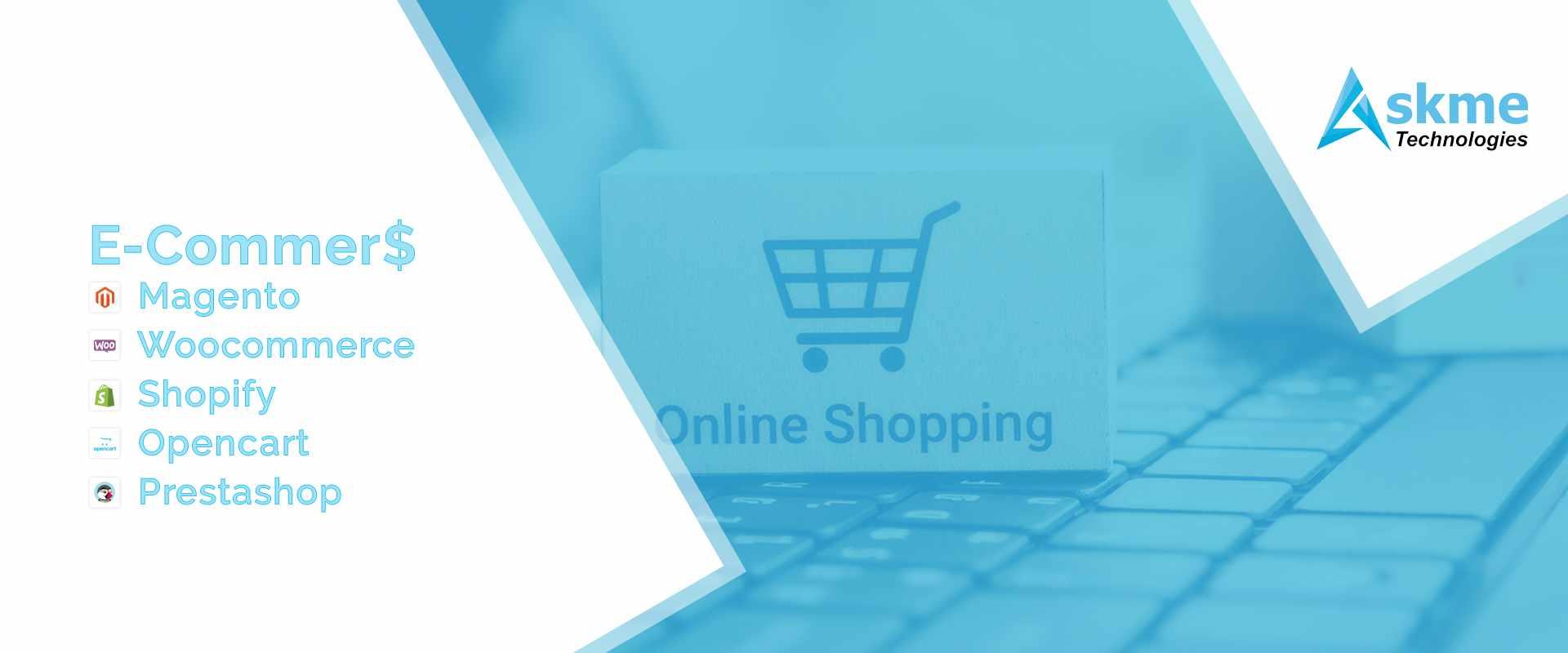 e-commerce wordpress, megento,shopify